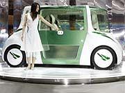 Teehaus auf Rädern: Konzeptauto RiN von Toyota