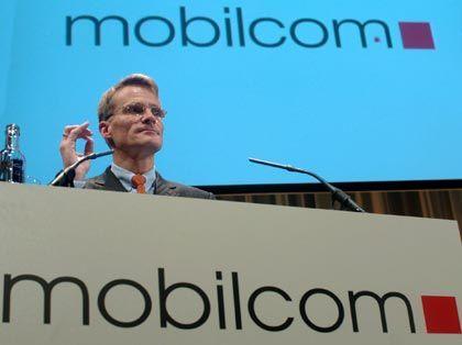 Prognostiziert einen Anstieg beim operativen Ergebnis für 2004: Mobilcom-Vorstandschef Thorsten Grenz