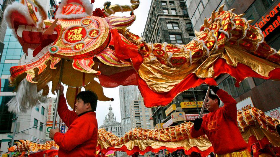 Drachenfest in New York: Die chinesische Wirtschaft holt weltweit mächtig auf