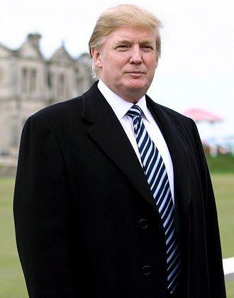 Donald J. Trump: Der 62-jährige New Yorker gilt als berühmtester Bauherr der Welt. Anfang der 90er Jahre wankte sein Imperium, doch er kam zurück. Trump hat Showtalent, Nerven wie Stahlträger und viele mächtige Freunde.