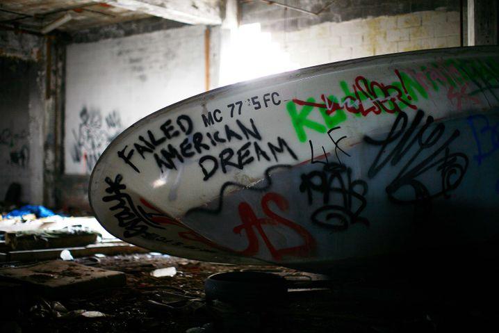 Verlassene Fabrik von Packard Motor in Detroit: Mit Trump sollen die alten Jobs zurückkehren, so die Hoffnung
