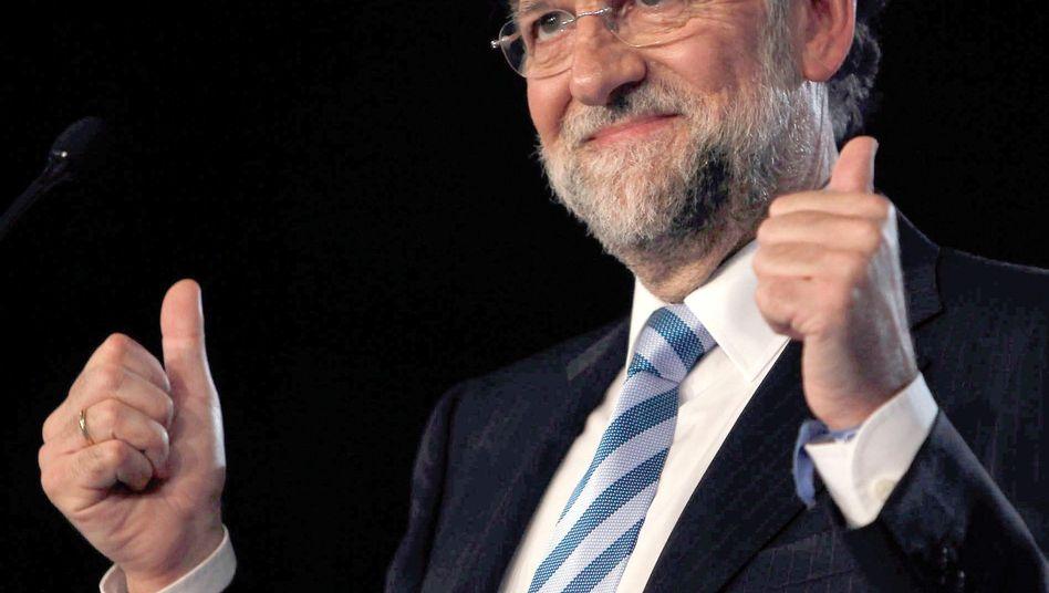 Erfolgreich am Kapitalmarkt: Spaniens neuer Premier Mariano Rajoy