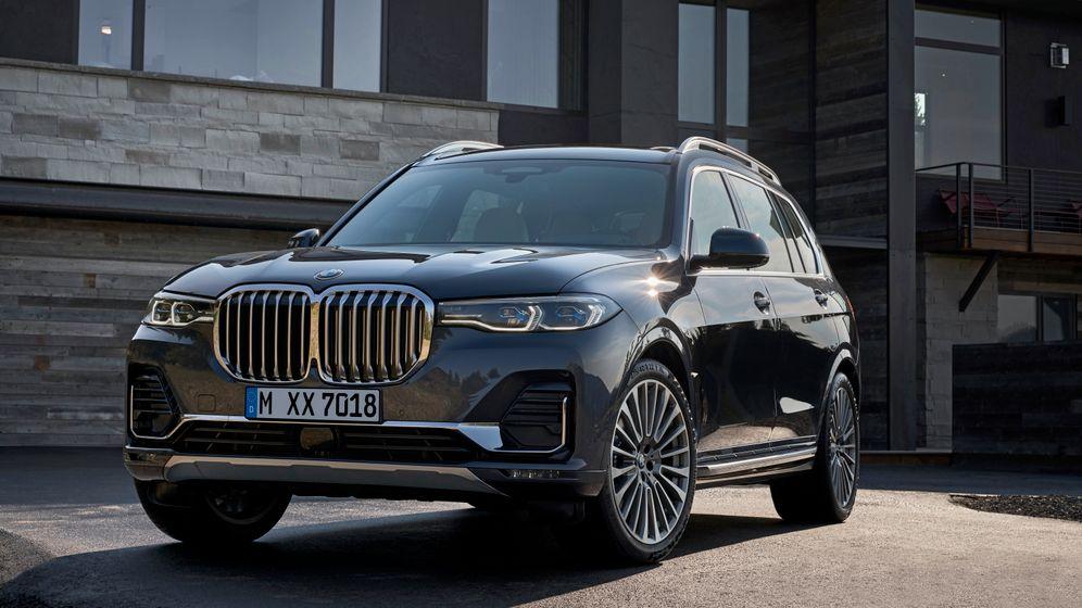 BMW X7 in Bildern: Vorstands-Panzer mit Musik-Manko