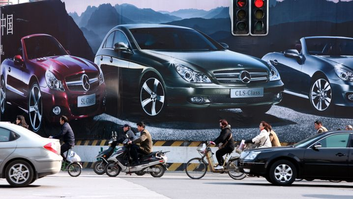 Automarkt China: Kampf um Kunden und um Sauerstoff