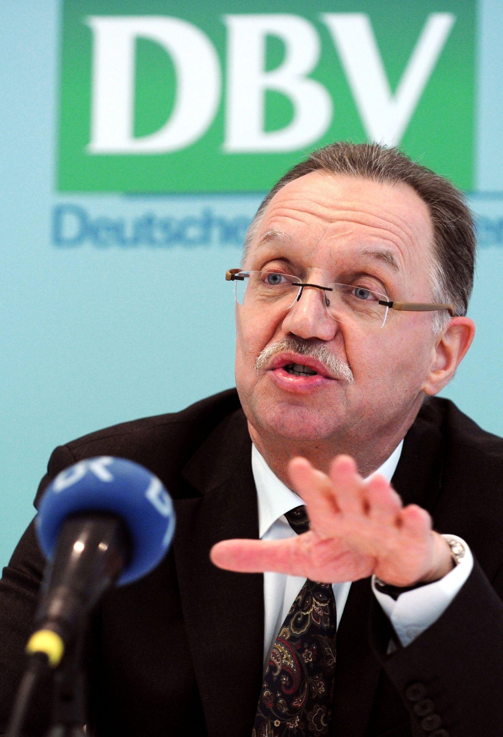 DBV / Bauernpräsident Sonnleitner kündigt Rückzug an