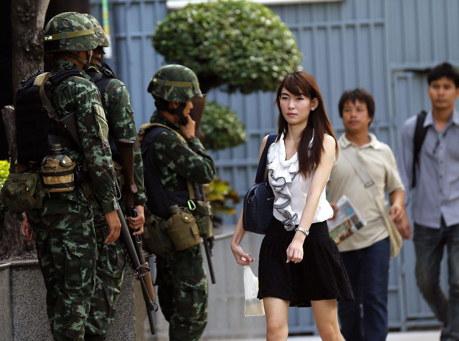 Thailand/Kriegsrecht