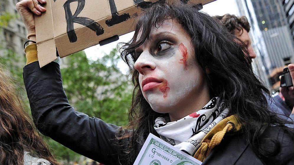 Junge Finanzrevolte: Wall-Street-Banker an den Pranger gestellt