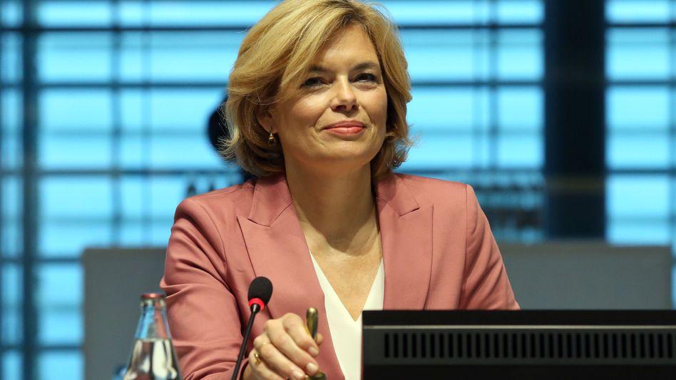 Bundesministerin für Landwirtschaft und Ernährung: Julia Klöckner