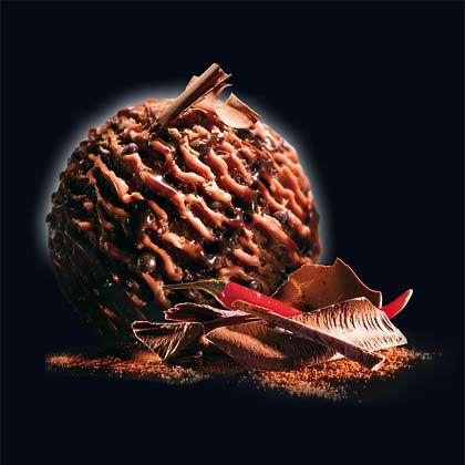 Scharf und süß: Schellers neues Schokoladeneis hat einen zarten Hauch von Chili