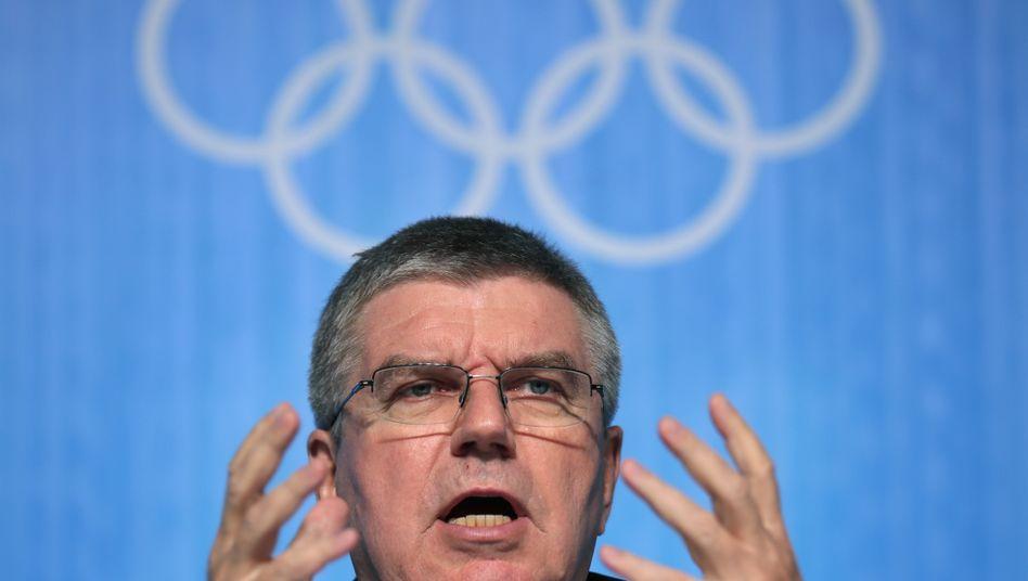 Kennt sich mit Kompromissen im harten Korruptions-Business aus: IOC-Präsident Thomas Bach