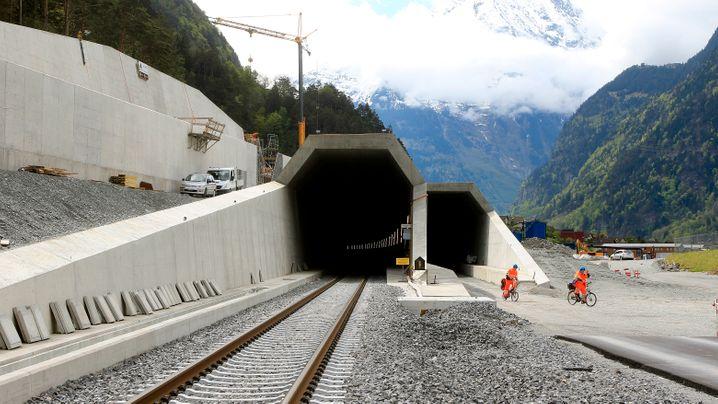Gotthard-Tunnel: Das Jahrhundert-Bauwerk