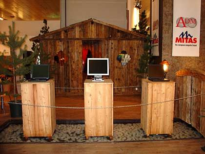 Gut Holz: Stand der Hersteller ADM und Mitas