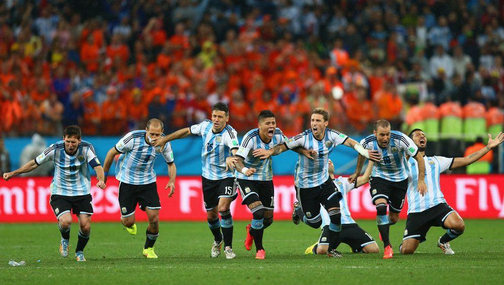 Sieg gegen die Niederlande: Argentiniens Triumph