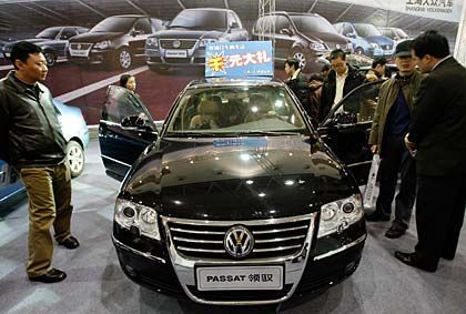 Plus 61 Prozent: In China ist Volkswagen besonders erfolgreich