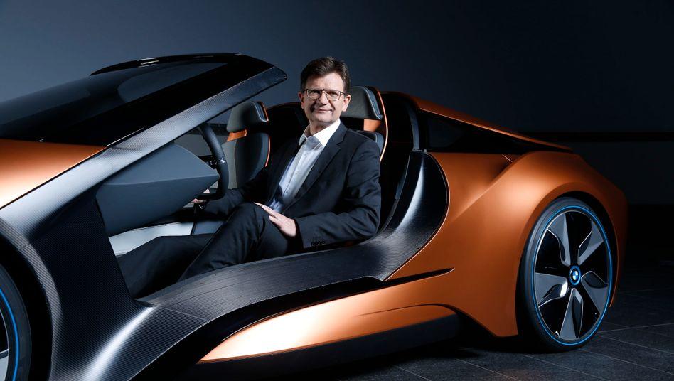 """Autonomes Führen: Entwicklungsvorstand Klaus Fröhlich treibt den BMW-Vorstand an. Kommentar eines Bewunderers in der Konzernspitze: """"Der ist hier konkurrenzlos."""""""