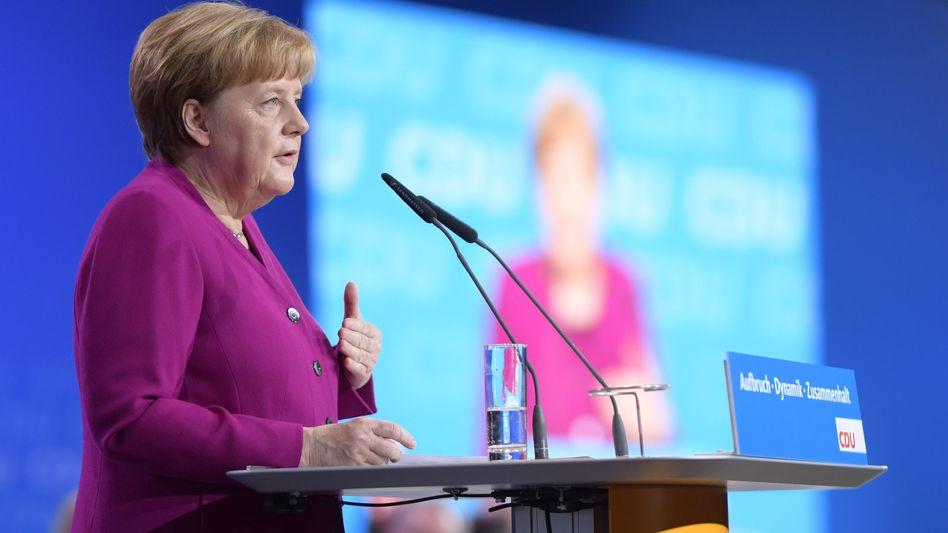 """Angela Merkel: """"Die große Chance, Impulse zu setzen"""""""