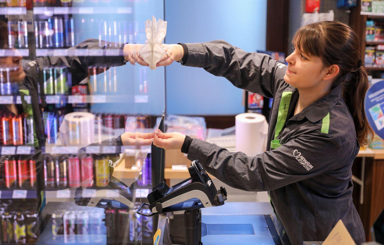 Supermarkt - Ort für Toilettenpapier, Nudeln und soziale Kontakte