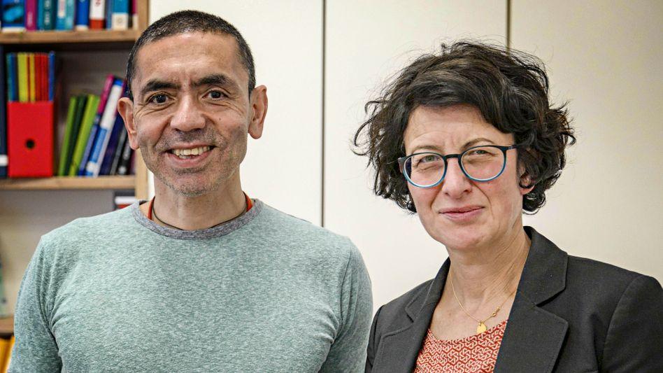 CEO und CMO: Uğur Şahin und Özlem Türeci