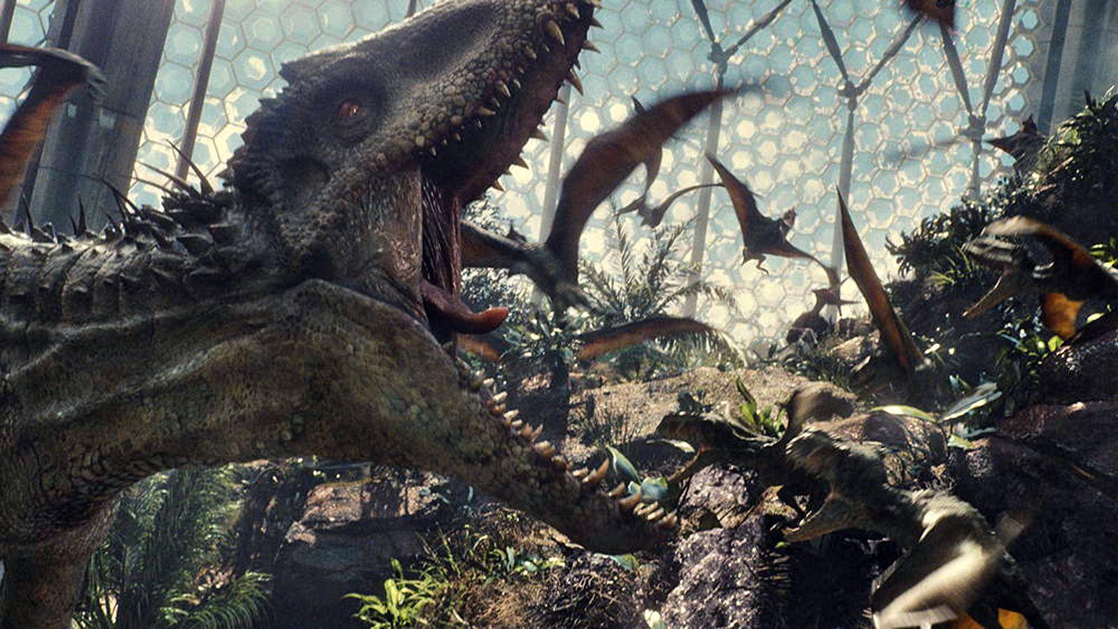 "Kinostart ""Jurassic World"""
