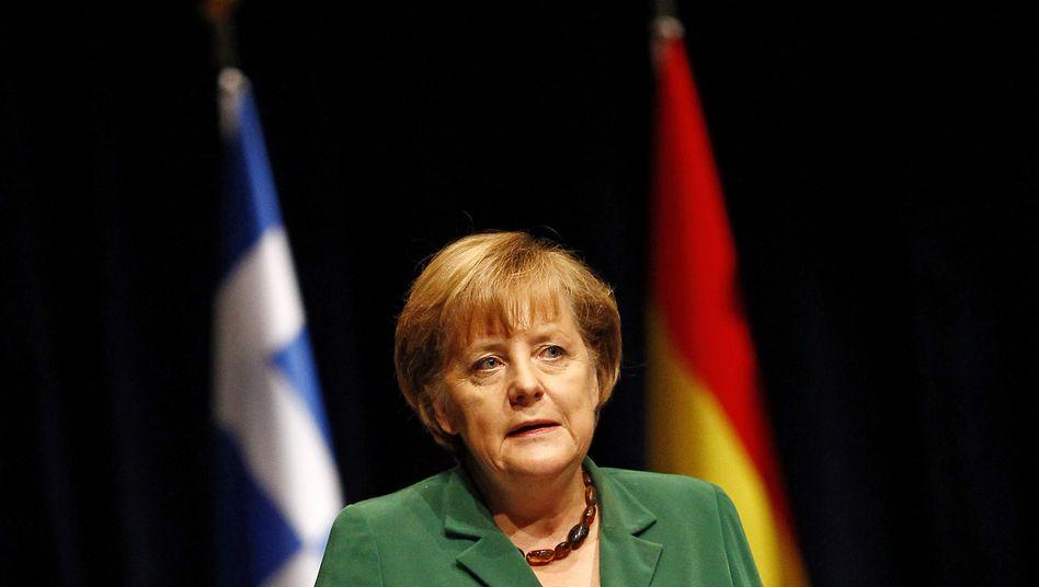 Kanzlerin Merkel: Plenardebatte gibt Chance auf breite Mehrheit für den eingeschlagenen Euro-Rettungskurs