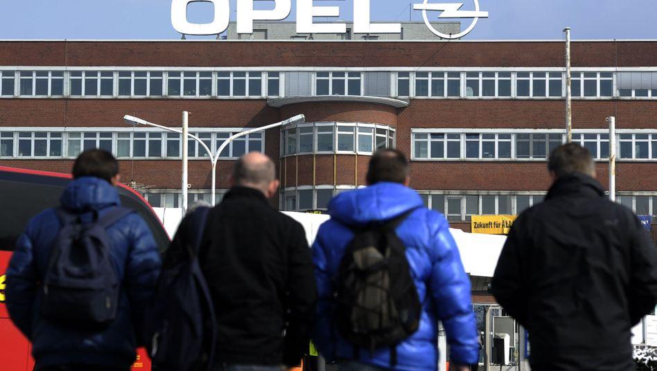 Opel-Mitarbeiter in Bochum: Nein zu den Spar-Vorschlägen des Managements