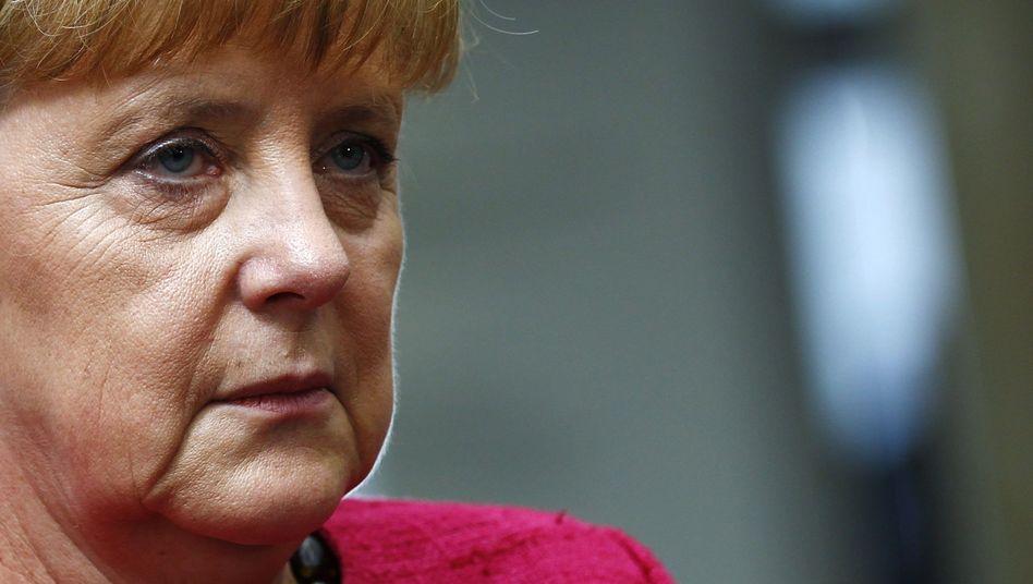 Bundeskanzlerin Angela Merkel: Spekulationen über zweiten Schuldenschnitt zugunsten Griechenlands entgegengetreten