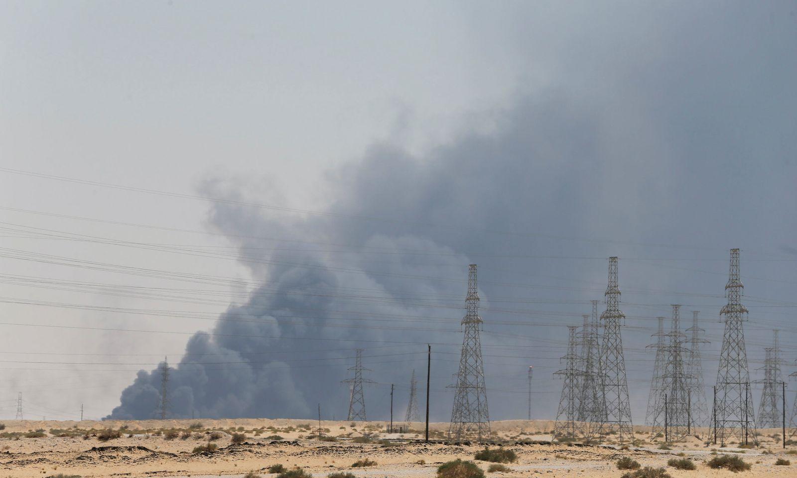 Saudi Arabien / Öl-Feld / Feuer