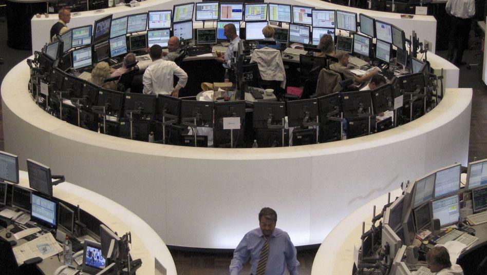 Börse in Frankfurt: Der Dax notiert kaum verändert