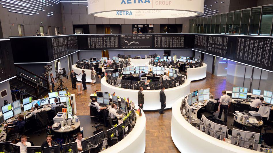 Börse in Frankfurt: Werden die US-Amerikaner die Haushaltsklippe noch umschiffen?