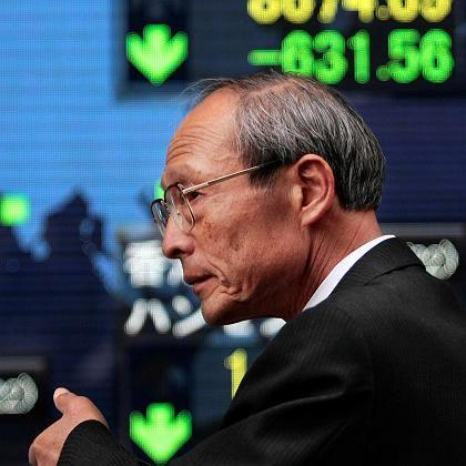 Deutlicher Rücksetzer: Japans Nikkei-Aktienindex rutscht unter die 9000-Punkte-Marke