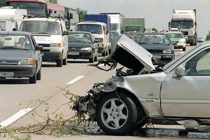 Forschungsobjekt:Auch der häufigen Unfallursache Übermüdung wollen die Autobauer begegnen