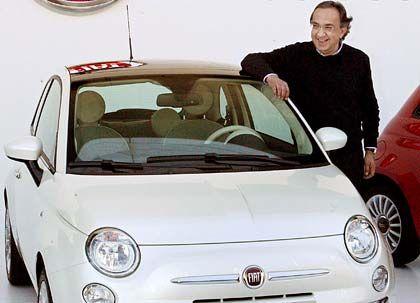 Glückliches Händchen: Fiat-Chef Sergio Marchionne