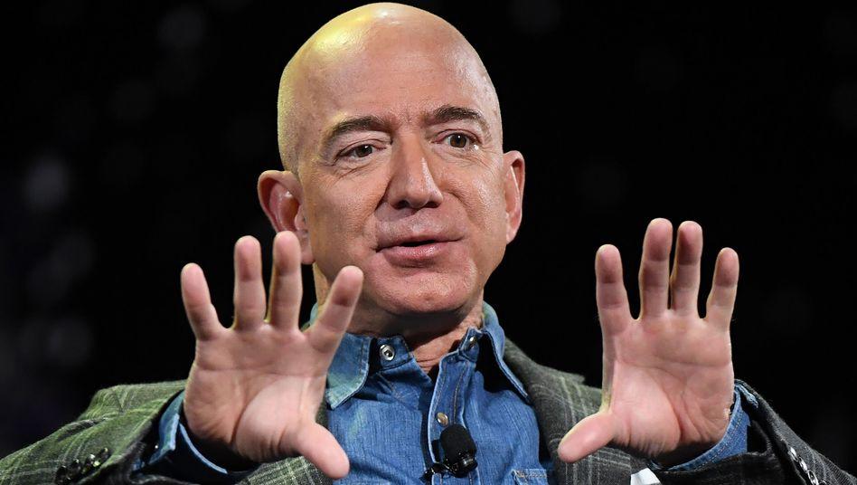 Jeff Bezos: Sein Konzern liegt mit der EU auf so manchem Feld im Clinch