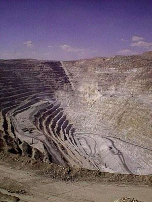 Kupfermine Chuquicamate: Kräftiger Preisrutsch für das rote Metall Kupfer