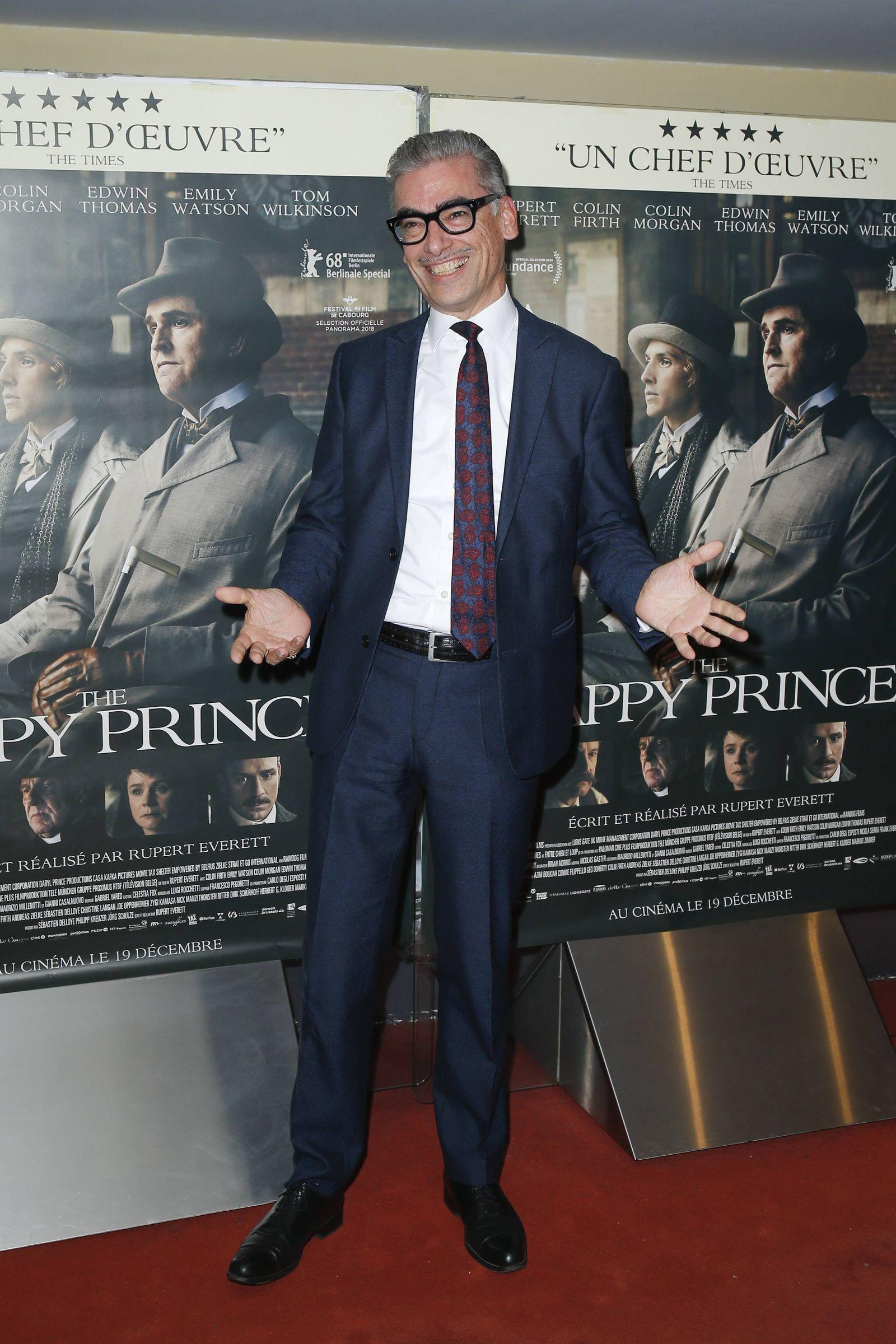 Andreas Zielke CELEBRITES Avant premiere du film THE HAPPY PRINCE Paris 28 11 2018 stephenCai