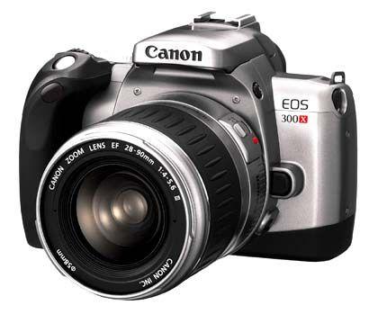Die EOS 300X: Canons neue analoge Spiegelreflexkamera