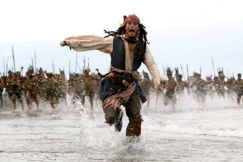 """Johnny Depp in """"Fluch der Karibik"""" für 30 Tage: Apple plant eine Online-Videothek"""