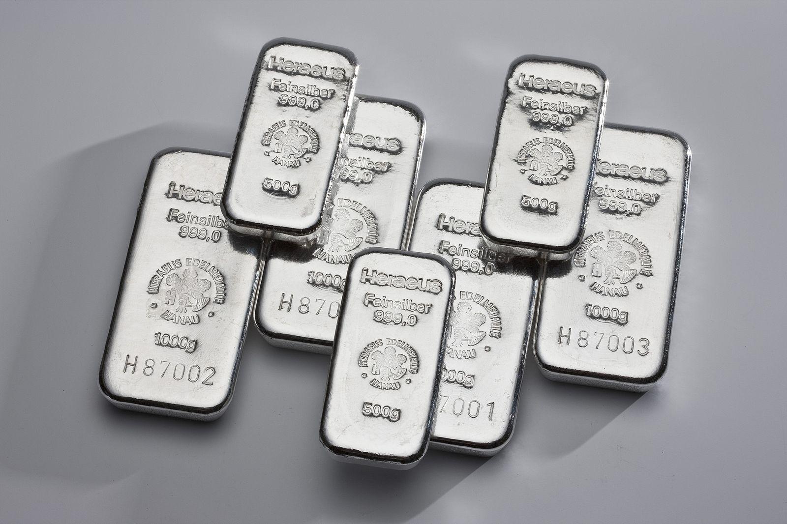 Silber / Silberbarren