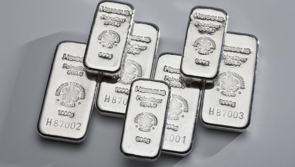 Silber-Barren: So wertvoll wie derzeit waren sie lange nicht