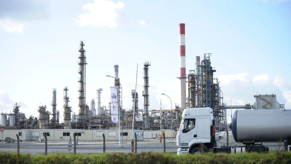 Margenschwaches Geschäft: Ölraffinerie von Total in Grandpuits nahe Paris