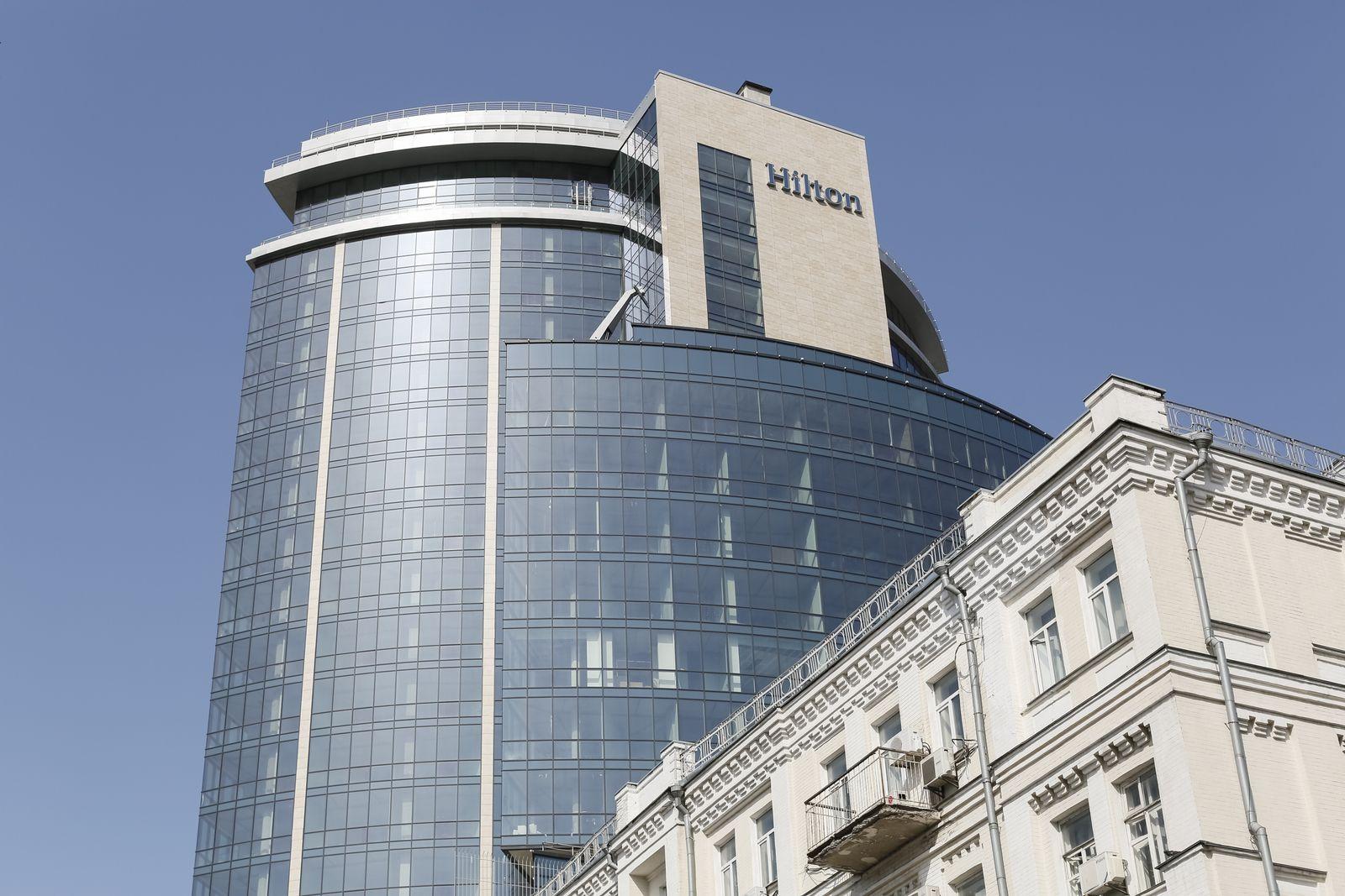 Hilton hotel / Kiev