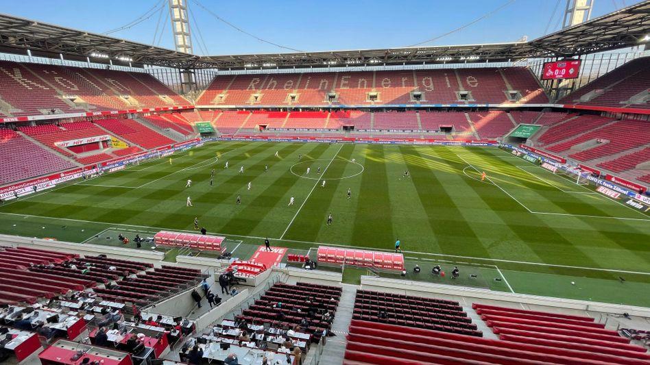 Luft nach oben: Stadion des 1. FC Köln ohne Fans beim Spiel gegen Werder Bremen am Sonntag (7. März)