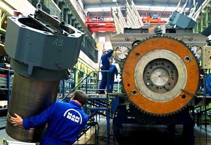 Maschinenbau: Wachstum wird langsamer