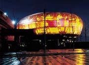 Planet M von Bertelsmann auf der Expo, gebaut von der Walter Bau AG