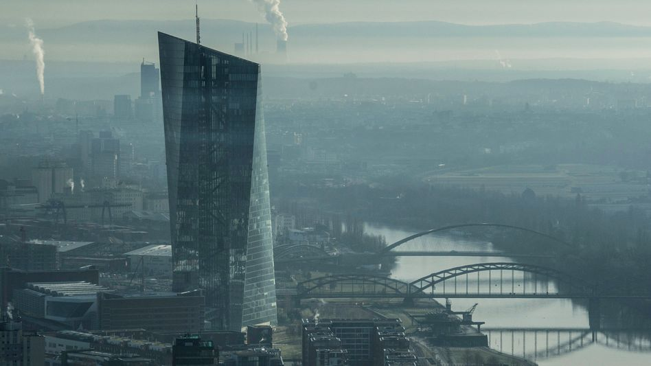 EZB-Gebäude in Frankfurt: Europäische Bankenunion verstößt nicht gegen das Grundgesetz