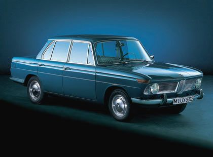 """1962: BMW 1500 - die """"Neue Klasse"""" führt aus der Krise"""