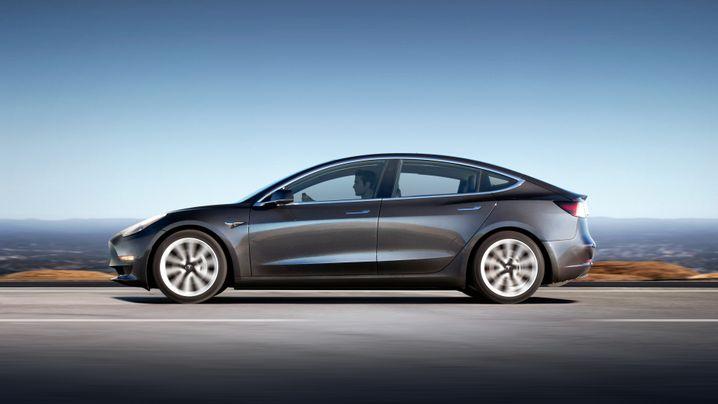 Model 3: Die Produktion liegt derzeit bei gut 6000 Stück pro Woche
