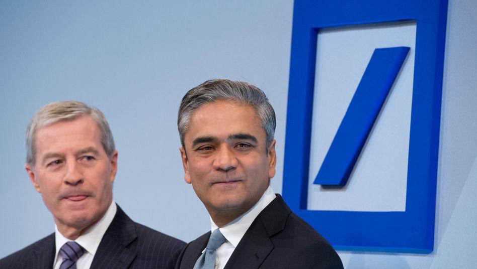 """Deutsche-Bank-Chefs Fitschen, Jain: """"Einige der Herausforderungen waren größer als wir erwartet hatten"""""""
