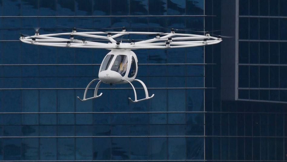 Volocopter: Mit dem Geld von Schenker will das Unternehmen die zweite Generation der Volodrone zur Marktreife führen