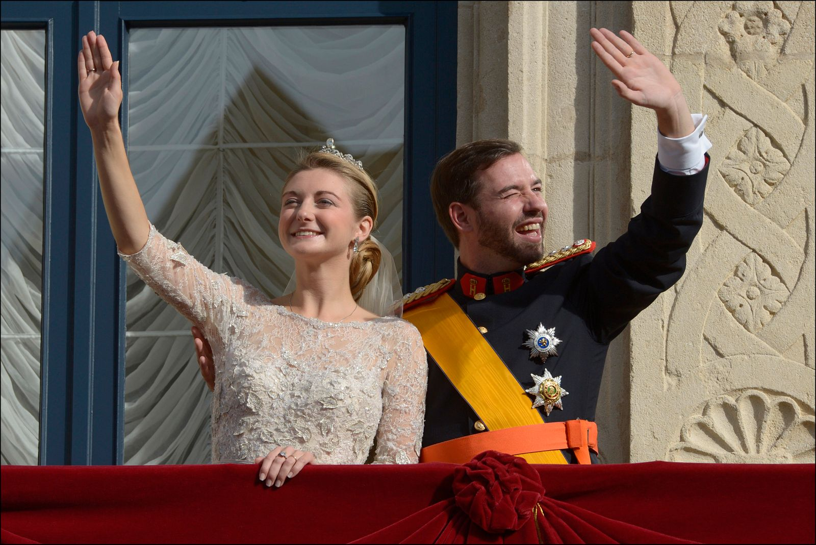 The Wedding Of Prince Guillaume Of Luxembourg & Stephanie de Lannoy